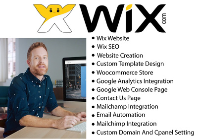 Built Wix website and wix SEO