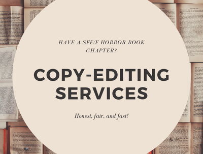 Edit a chapter of your speculative fiction book