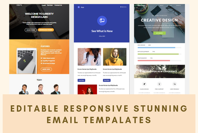 Create reponsive HTML email template