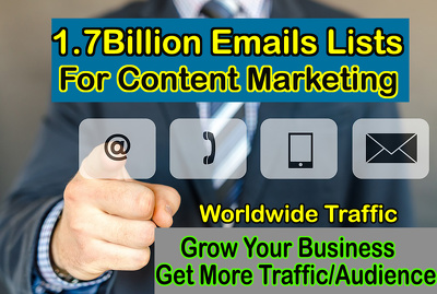 Send You 1 Billlion 700 Million Emails Lists With Extra Bonuses