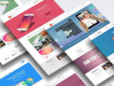 Create a modern website using Divi Theme - Responsive