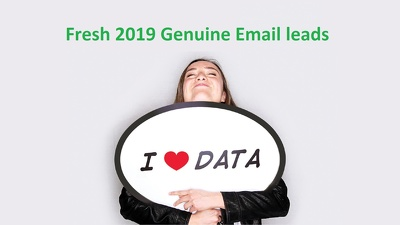 15,000 genuine email opt in leads from the US or UK B2B data