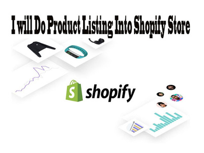 Do Product Listing Into Shopify Store