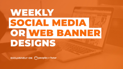 Design social media posts or web banner for your business