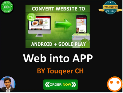 convert your Website To Native Like Webview Android App