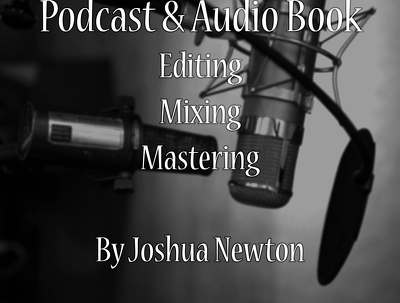 Professionally edit, mix and master your podcast and audio book