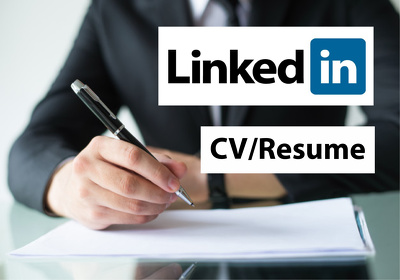 Write Resume, CV and LinkedIn profile for you