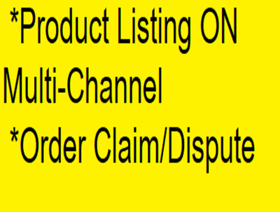 Do shopify listing which can attract buyer for the product.