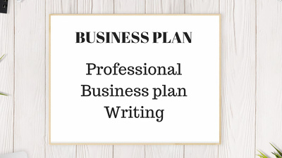 Prepare a professional Business Plan