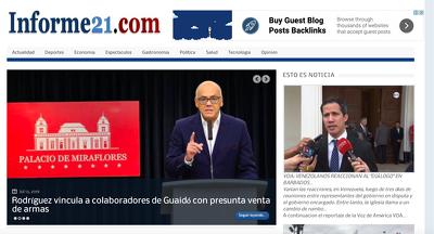 Write and  post on Spanish Newspaper Informe21.com - DA 79