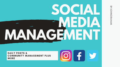 Manage Your Social Media for 5 Days
