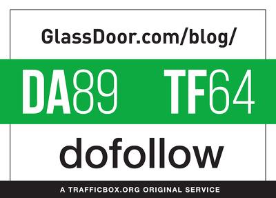 Guest post on glassdoor.com/blog/ - DA89