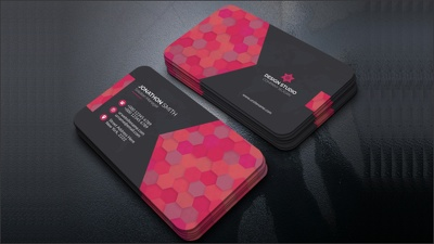 Do all type of business card design for 1 hour