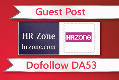 Guest post on HR Zone - hrzone.com - DA53