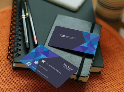Do professional business cards with unlimited revision very fast