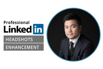 Retouch Professional Linkedin profile photo headshot editing
