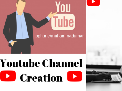 Create and design your Youtube channel from start