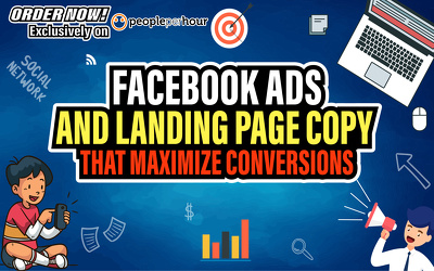 Write High Converting Facebook Ad Copy or Landing Page Copy