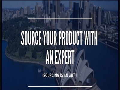 Source and Search Products and Services Efficiently