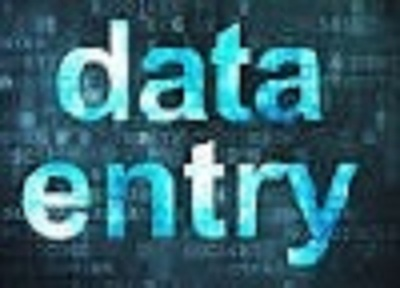 Do 100 data entry with high accuracy.