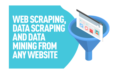 Do web scraping , data scraping and data mining