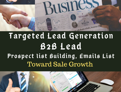 Do Your Required Lead Generation And Web Research