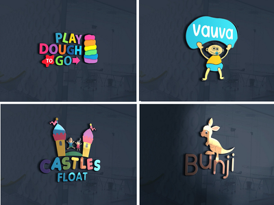 Design exclusive kids logo with unlimited revisions