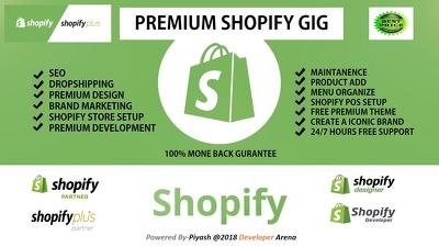 Build and customize your shopify store