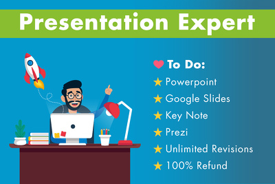 Design Powerpoint Presentation / Keynote / Google Slides / Prezi