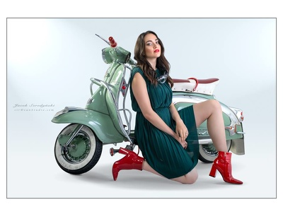 Commercial & portrait photograhy with styling of make-up