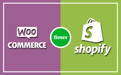 Do Ecommerce Store Using Woocommerce, Shopify Or Online Store
