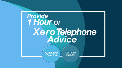 Provide 1 hour of Xero telephone advice