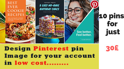 I Will Design 10 Pin Images For Your Pinterest Account