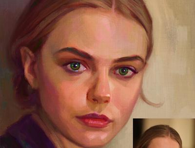 Paint a Realistic Digital Portrait