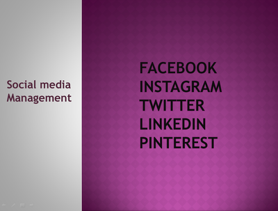 Manage your social media acconts