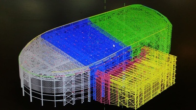 Make Tekla model for Steel Structures