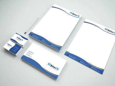 Create A Modern Business Card, Stationery Design in 24 hours
