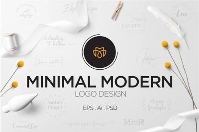 Sensational, professional minimalist business logo design