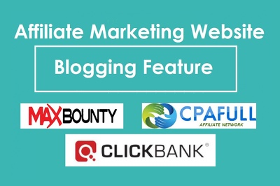 Create Website For Affiliate Marketing On Clickbank Maxbounty