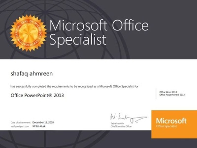 Create attractive MS PowerPoint slides and MS word editing.