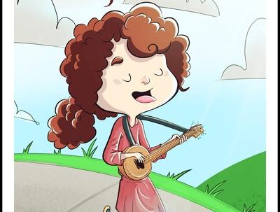 Illustrate children books covers