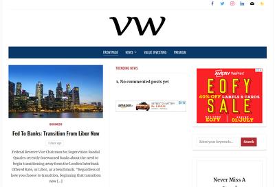 Publish Guest post on ValueWalk- valuewalk.com - DoFollow - DA79