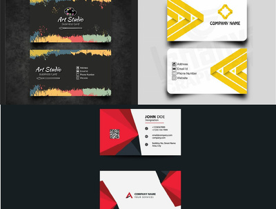 Create Professional Business Card In 12 Hours (double side)