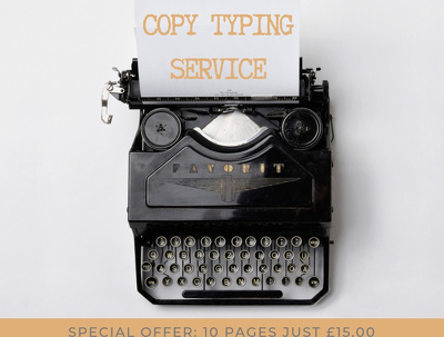 Do you need a copy typing service (up to 10 pages)?