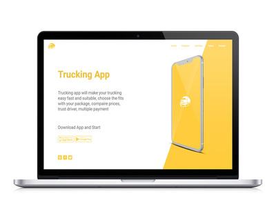 Design Ux Ui For Landing Page