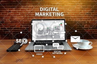 I can Promote your business through Digital marketing with 1 day