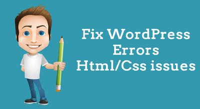 I can do  any WordPress Issue/Problem fixed