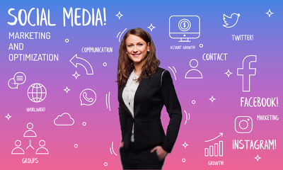 Be Your Social Media Manager And Do Social Media Marketing