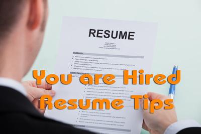 Write/rewrite CV or Resume