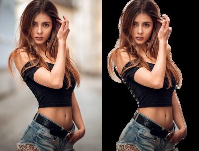 Remove background of 10 photos